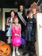 Melanie Hooban Halloween Photo